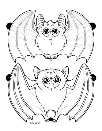 Batpug Garland Up Ears page 1 THUMBNAIL.