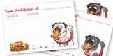 Pug Recipe Cards