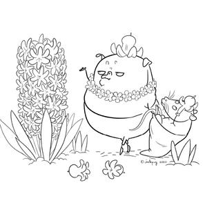 Gnome Pug: Hyacinth