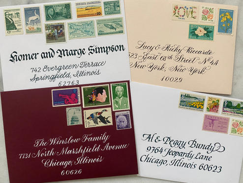 Envelope Addressing Samples