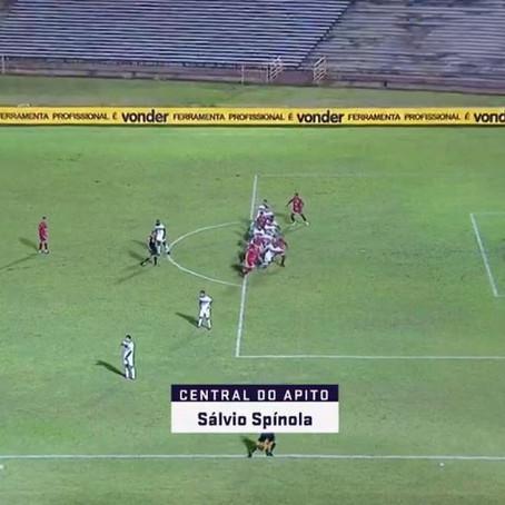 Copa do Brasil: Tonet supera Crespo, que reclama de Zandick. ABC em campo