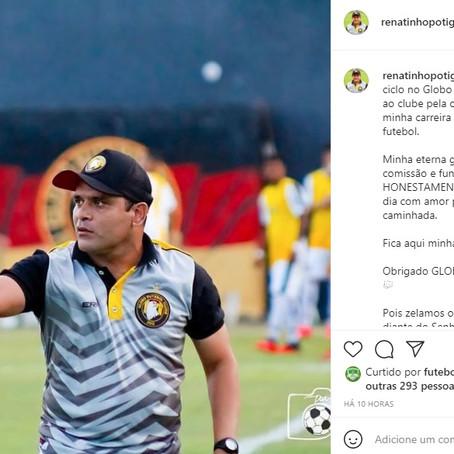 """Renatinho Potiguar deixa o Globo falando em """"zelar pelo que é honesto"""""""