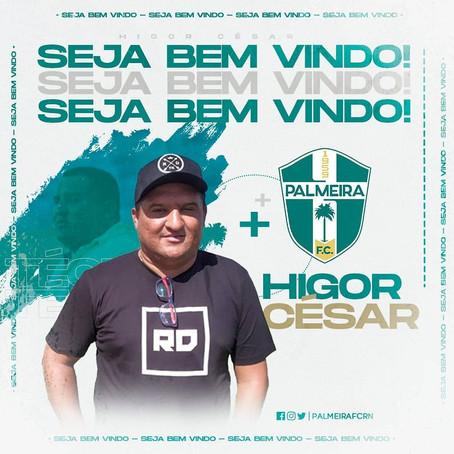 Higor César é o novo técnico do Palmeira do Agreste