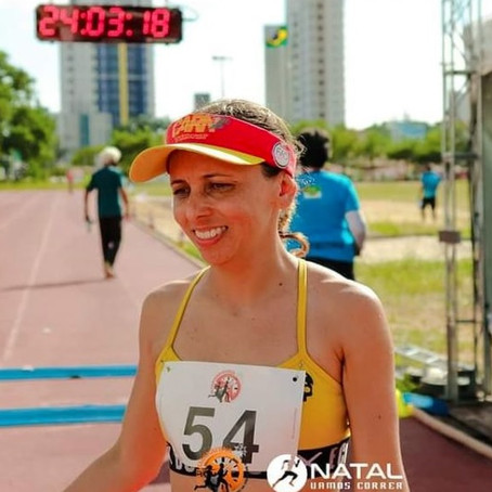 Atleta mossoroense corre 160km em 24h e é destaque como ultramaratonista no RN