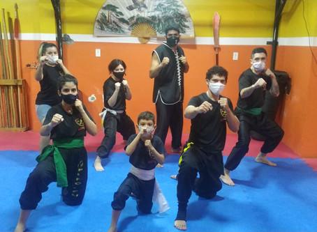 Mossoroenses garantem pódio em Campeonato de Kung Fu
