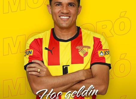 Márcio Mossoró muda de clube na Turquia no fim da janela de transferências