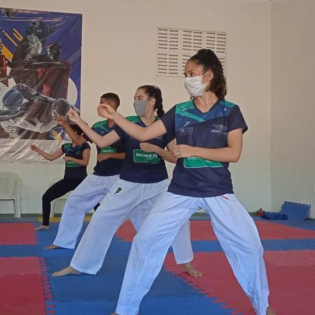 Karateca potiguar conquista vaga em Jogos Panamericanos