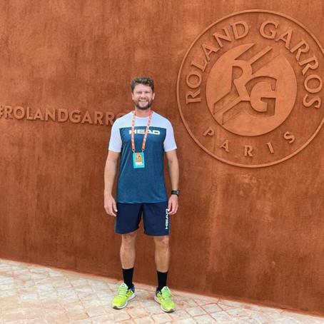 Técnico do Aeroclube participa do Roland Garros  e Wimbledon