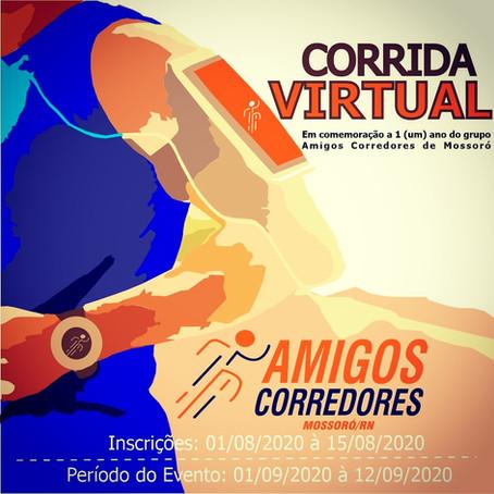 Grupo de corredores de Mossoró comemora aniversário com corrida virtual