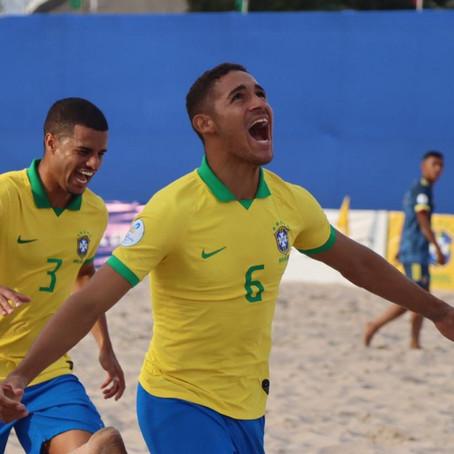 Três potiguares estarão na Copa do Mundo de beach soccer