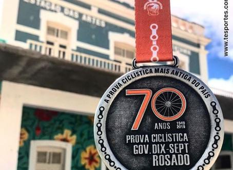 Prova ciclística dix-sept rosado encerra nesta sexta (18). Medalhas na próxima semana.