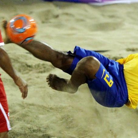 Quatro potiguares estão na seleção brasileira de Beach Soccer