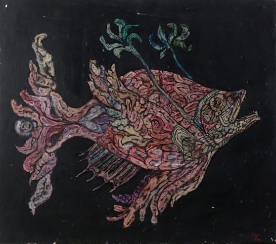 062 Pez de la profundidad rosa palido 80