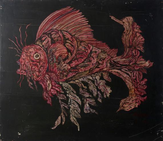 065 Pez de la profundidad rosado fuerte