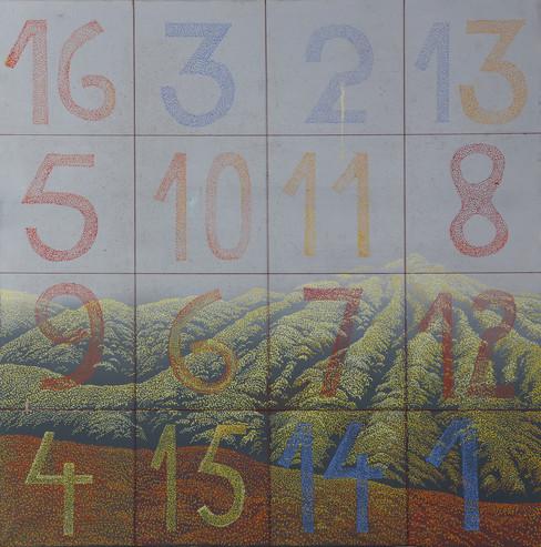 139 Cumbre c cuadrado magico 60x60 1998.