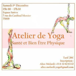 Atelier de Yoga : Yoga et Santé
