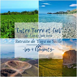 Les 4 Elements - retraite de Yoga en Sicile