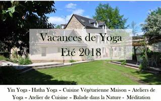 Vacances de Yoga - Été 2018: Inscriptions Ouvertes!