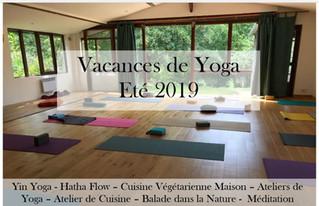 Vacances de Yoga  Eté 2019