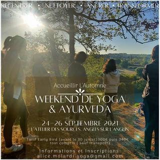 Yoga et Ayurveda - 24-26 septembre 2021