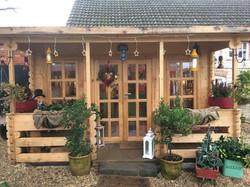 The doggy cabin