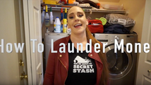 Most people would be afraid to put a money laundering tutorial on YouTube, but not Beck Flatley.