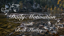Do you suffer from anxiety, depression and a dark sense of humor? Check out Beck's anti-motivation series.