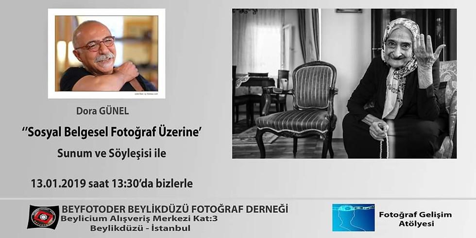 Sosyal Belesel Fotoğraf Üzerine Dora GÜNEL ile Sunum ve Söyleşi