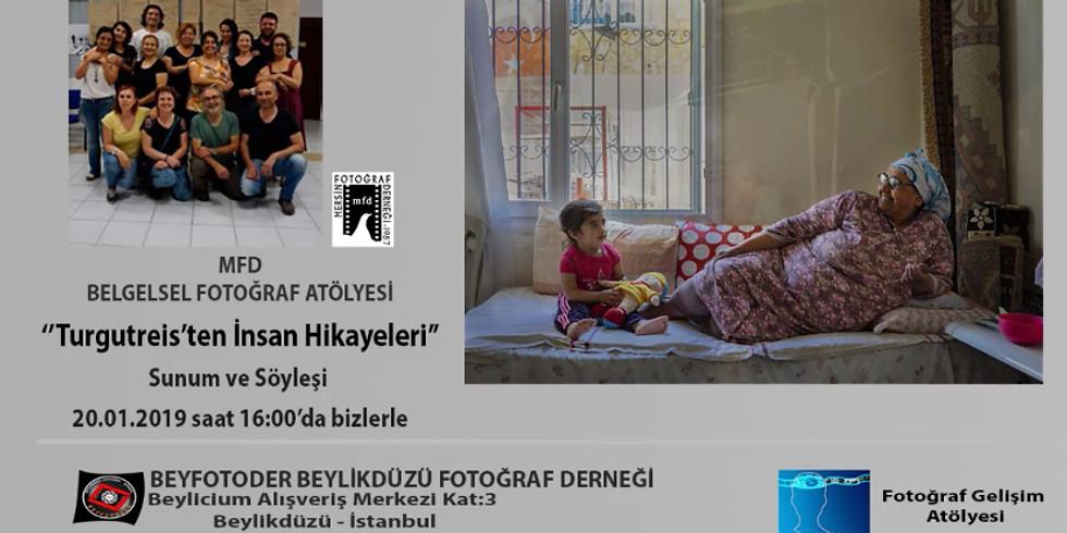 """MFD Belgesel Fotoğraf Atölyesi """"Turgutreis'ten İnsan Hikayeleri"""" diyen"""