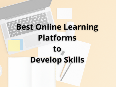 Best Online Platforms to Learn Something New