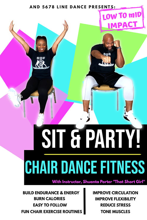 Sit & Party Chair Dance Fitness for ALL!