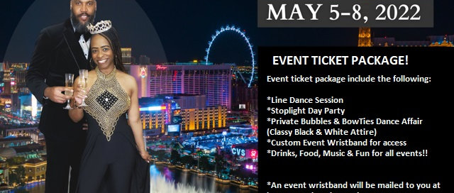 Bubbles & BowTies  Events Ticket Package