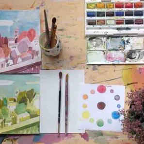 28 sept.   Stage peinture : La couleur