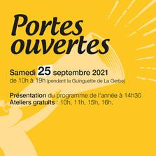 25 septembre 2021   Portes ouvertes aux Ateliers Persona