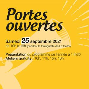 25 septembre 2021 | Portes ouvertes aux Ateliers Persona