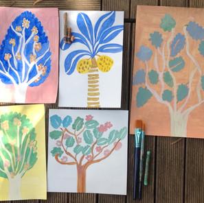 19 mai   Atelier peinture en plein air