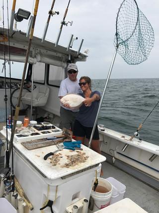Winter Flounder August  Fishing