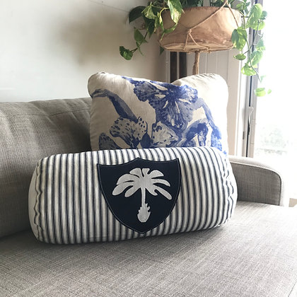 Palm Stripe Bolster Cushion