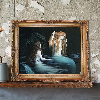 Original Artwork - Two Sirens