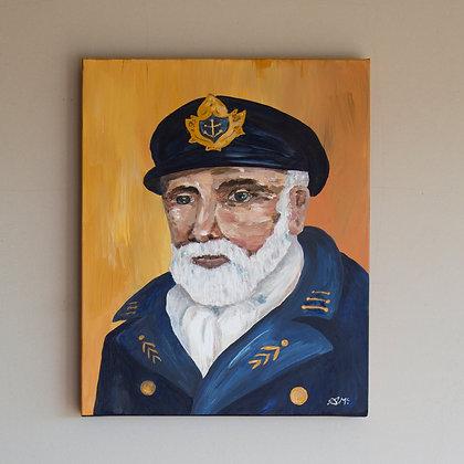 Sea Captain Painting D