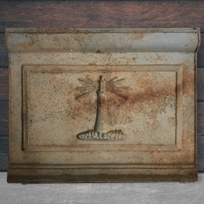 Vintage Beacon Light Oven Door