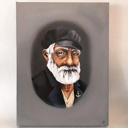 Original Artwork - Fisherman Portrait 1