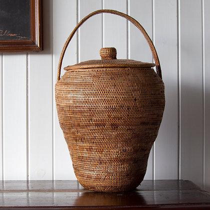 Vintage Buka Woven Basket