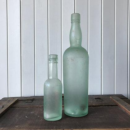 Glass Bottle Duo