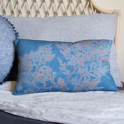 La Mer Blue Cushion