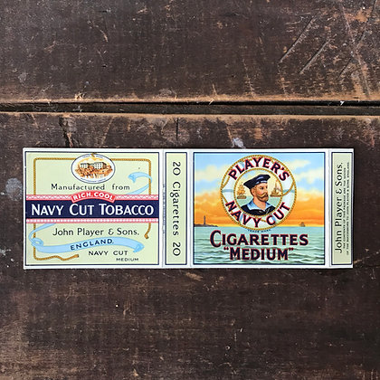 Navy Cut Vintage Packaging