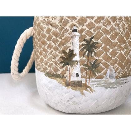Handpainted Island Pots