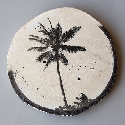 Palm Porthole Tile