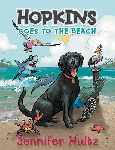 Hopkins Goes to the Beach - Hard Cover