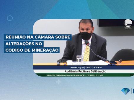 Reunião na Câmara sobre Alterações no Código de Mineração
